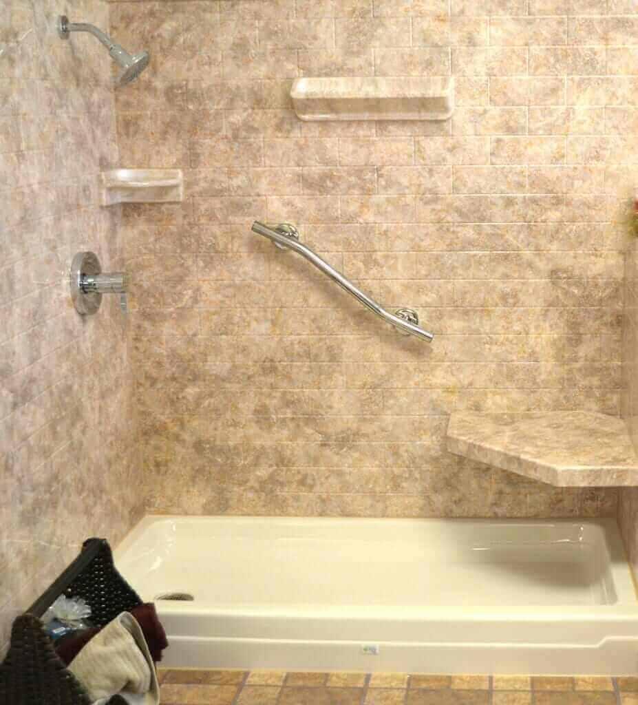 Shower Surround Material Options - Round Designs